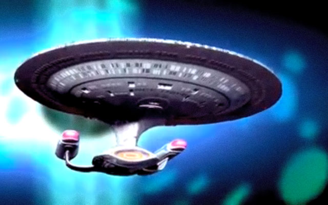 Image of the Starship Enterprise